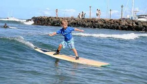 Your kids will be thrilled to catch a wave during their Maui vacation!