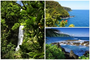 Road to Hana Photo Collage