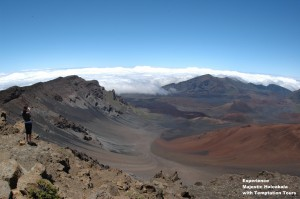 Get an awe-inspiring view of Haleakala on the first flight of the day.