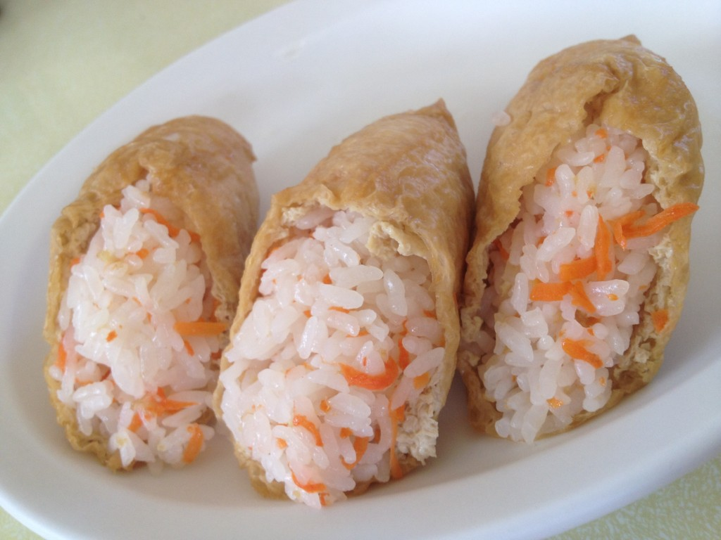 Cone sushi is one of the quintessential Maui snacks.