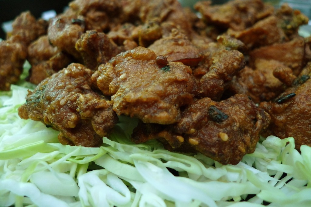 Mochiko chicken-- one of my favorite dishes-- is a local staple.