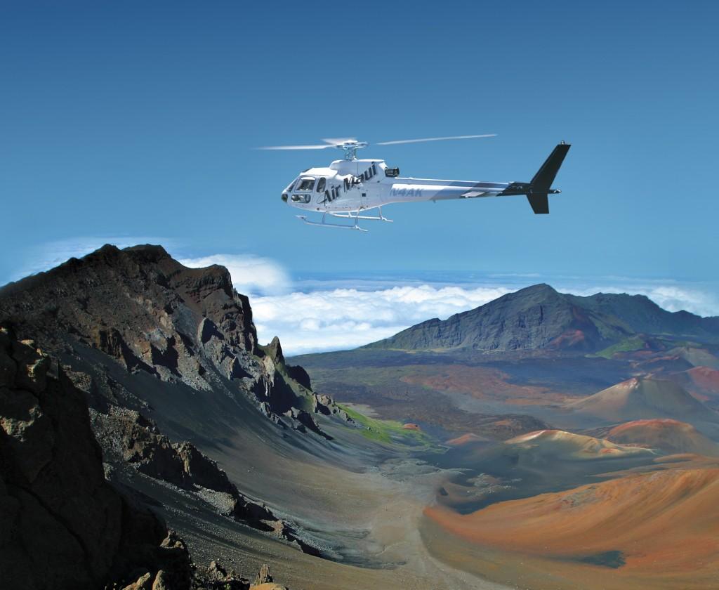 Enjoy unbelievable views of Haleakala Crater in full, stunning daylight.