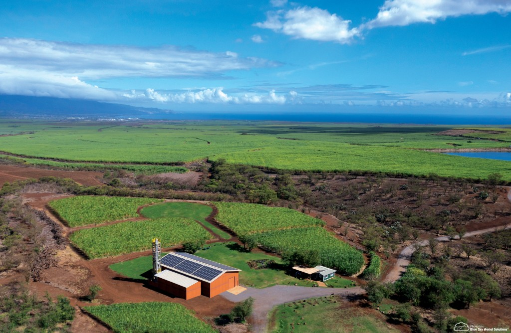 Ocean Vodka's eco-friendly facilities lie on 87 acres on the slopes of Haleakala.