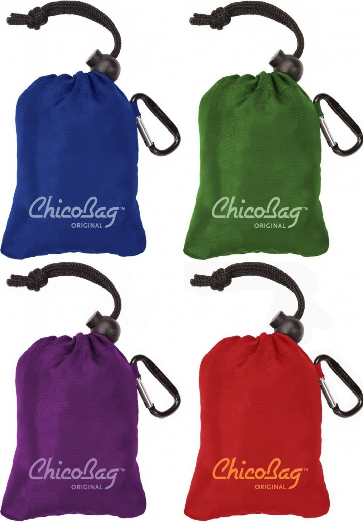 Reusable, compact bags-- like ChicoBags-- make shopping on Maui a cinch!