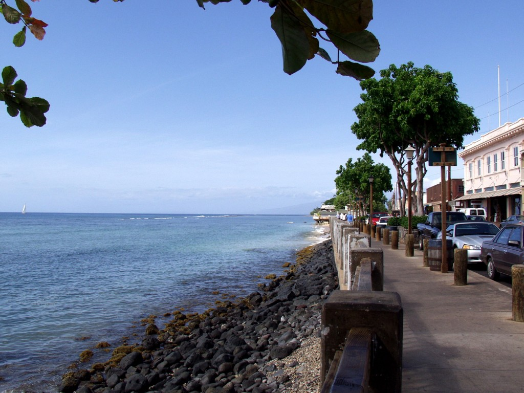 The charming seaside town of Lahaina has a romance all of its own.